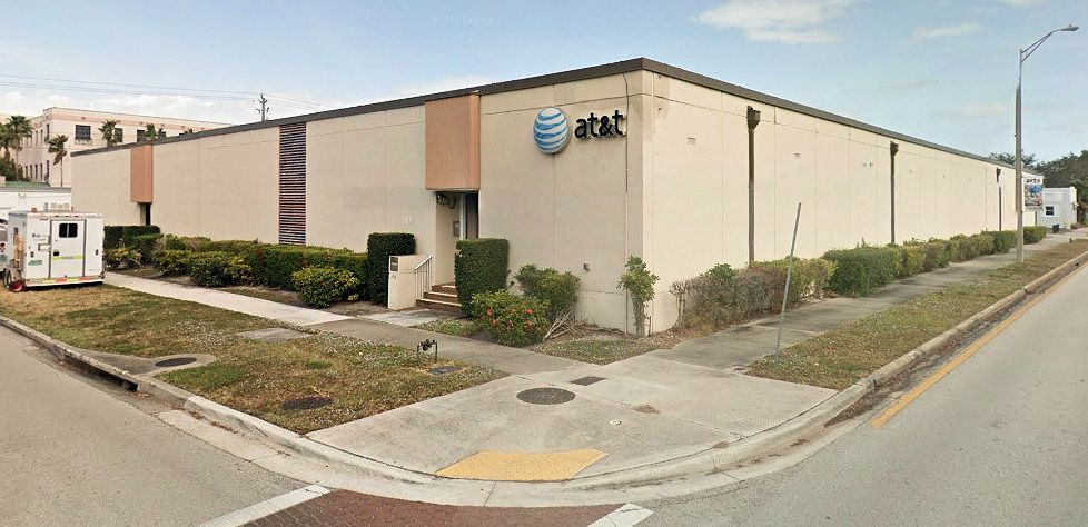 Telephone Central Office Building Pictures Area Code Florida - Area code 772